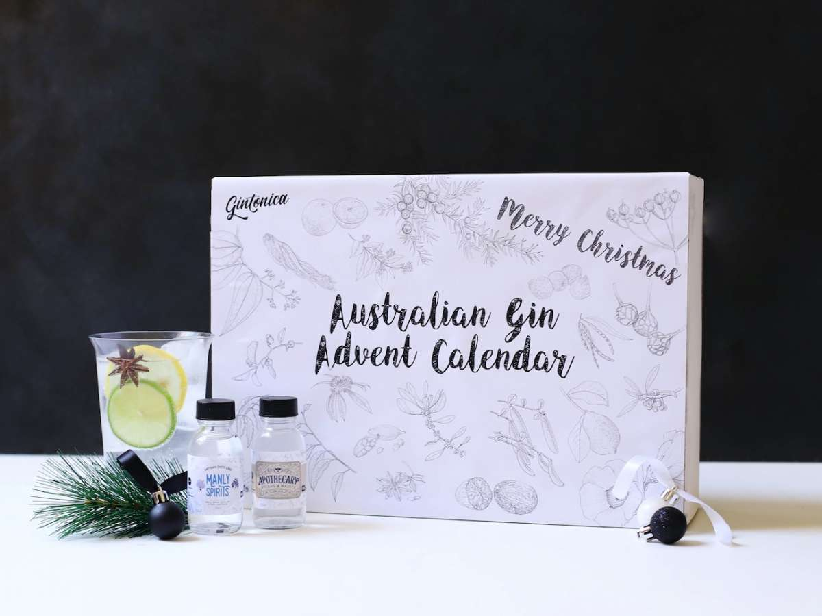Nip of Courage Gin Advent Calendar
