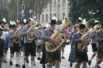 Oompah Band in Parade