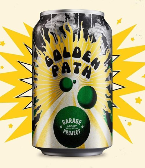 Garage Project Golden Path Juicy Hazy IPA - The Crafted Crew