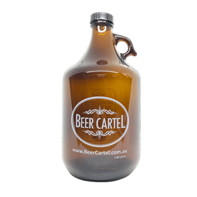 Beer Cartel 1.89L Growler