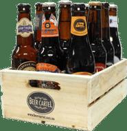 Australian Craft Beer 12 Pack with Wooden Beer Crate