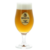 3 Monts (Trois Monts) Beer Glass