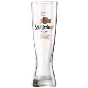 Schofferhofer Weissbier Glass