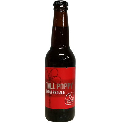 8 Wired Tall Poppy India Red Ale 330ml