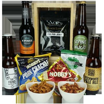 Craft Beer Bites Beer Hamper Australia Wide Delivery
