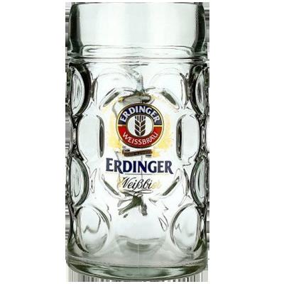 Erdinger 1 Litre Glass Stein
