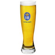 Hofbrau Munchen Wheat Beer Glass 300ml