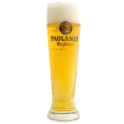 Paulaner Wheat Beer Glass