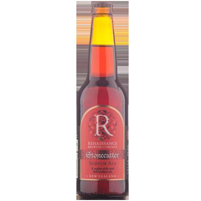 Renaissance Stonecutter Scotch Ale 330ml