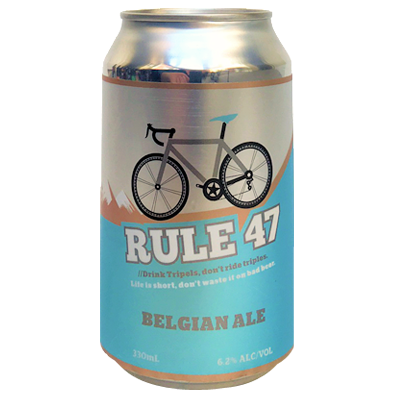 Victoria's High Country Brewery Trail Rule 47 (2016 - Belgian Ale)