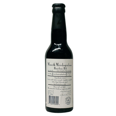 De Molen Mooi & Meedogenloos Bourbon BA Imperial Stout
