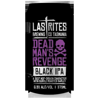 Last Rites Dead Man's Revenge Black IPA