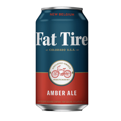 New Belgium Fat Tire Amber Ale 355ml Can
