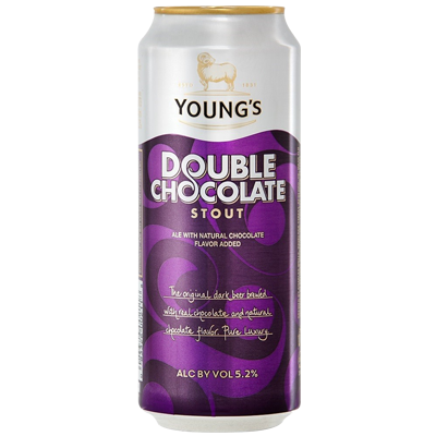 Wells & Young's Double Chocolate Stout 440ml Can