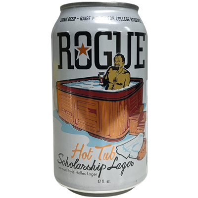 Rogue Hot Tub Scholarship Lager