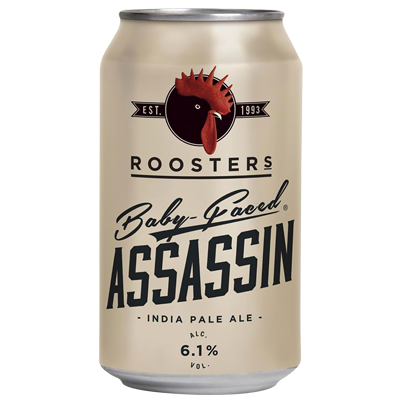 Rooster's Baby Faced Assassin IPA