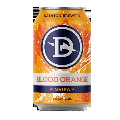 Dainton Blood Orange New England Rye IPA (4PK Limit)