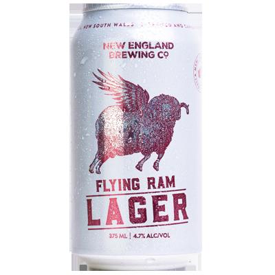 New England Flying Ram Lager
