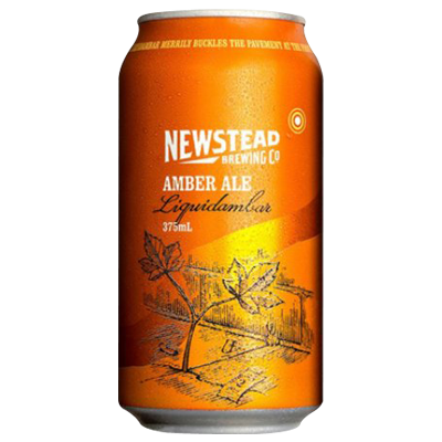 Newstead Liquidambar Amber Ale 375ml Can
