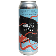 Sailors Grave Squid vs Whale IPA