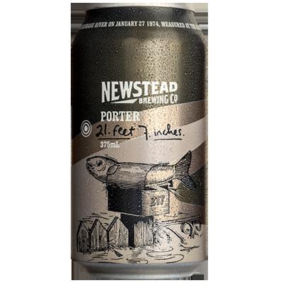Newstead 21 Feet 7 Inches Porter 375ml Can