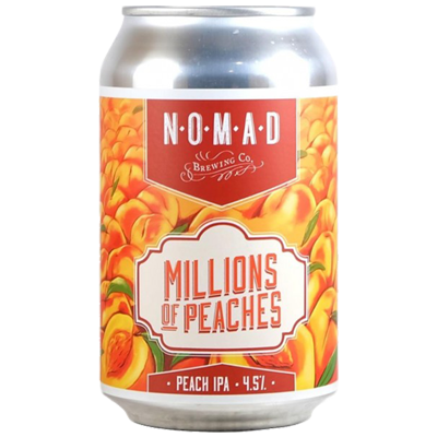 Nomad / Pink Boots Society Millions of Peaches IPA