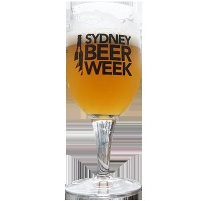 Sydney Beer Week 2017 Glass