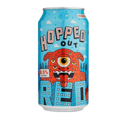 Kaiju! Hopped Out Red 375ml Can