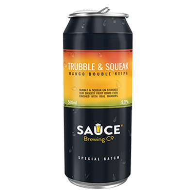 Sauce Trubble & Sqeak Mango Double NEIPA