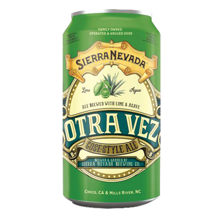Sierra Nevada Otra Vez with Lime & Agave