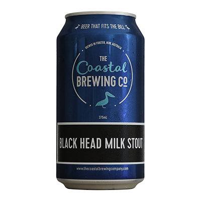 Coastal Black Head Milk Stout