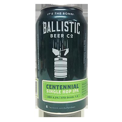 Ballistic Centennial Single Hop IPA