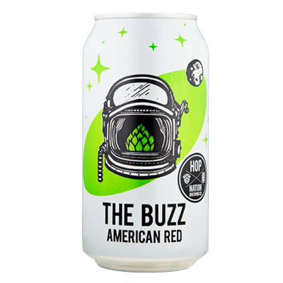 Hop Nation The Buzz Amber Ale (375ml Can)