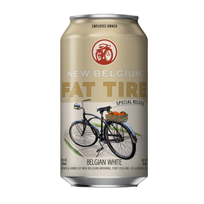 New Belgium Fat Tire Special Release Belgian Style White