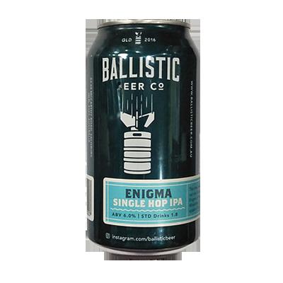 Ballistic Single Hop Enigma IPA