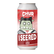 Chur I See Red IPA (2 Can Limit)