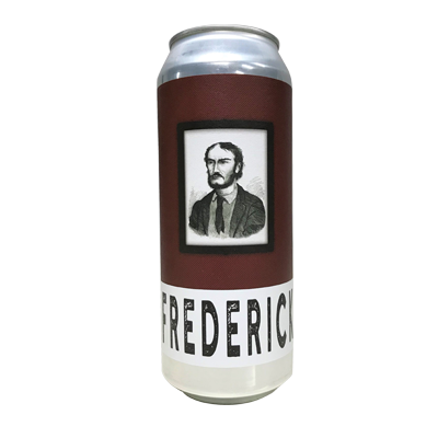 New England Frederick India Brown Ale Hop Cannon
