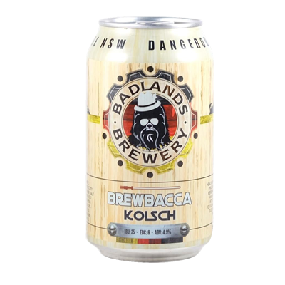 Badlands Brewbacca Kölsch 355ml Can