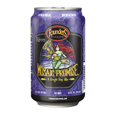 Founders Mosaic Promise Pale Ale 355ml Can
