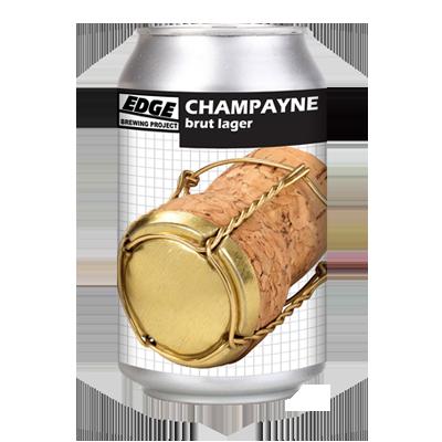 Edge Champayne Brut Lager