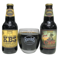 Founders Breakfast Stout Mix Pack + Barrel Aged Tasting Glass
