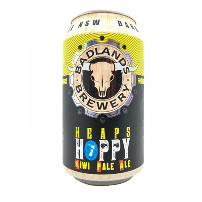 Badlands Heaps Hoppy New Zealand Pale Ale 355ml Can