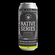 Beer Farm Native Series Fervor Desert Lime and Lemon Myrtle IPA