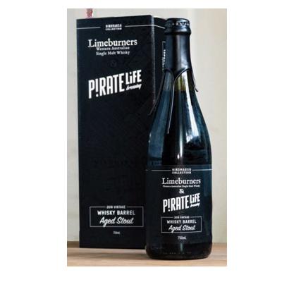 Pirate Life Limeburners Whisky Barrel Aged Stout 2018 (1 Bottle Limit)