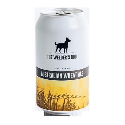 The Welder's Dog Australian Wheat Ale