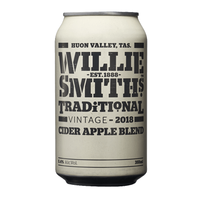 Willie Smith Traditional Cider Apple Blend 375ml Can