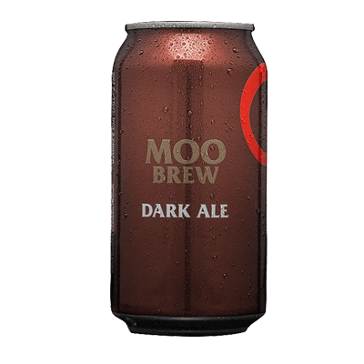 Moo Brew Dark Ale 375ml Can