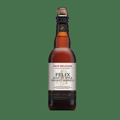 New Belgium Felix Aged in Apple Whiskey Barrels