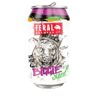 Feral Biggie Juice New England IPA 375ml Can