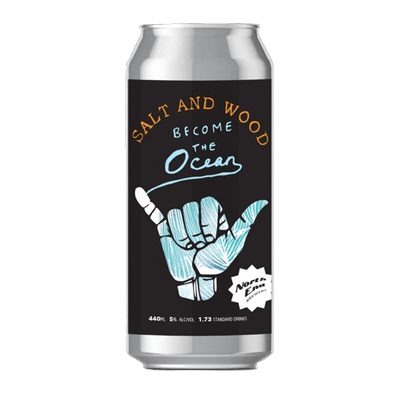 North End Salt and Wood Become the Ocean Gose